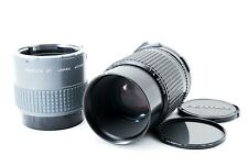 Pentax SMC P 67 200mm f4 + REAR CONVERTER 2x for 6x7 67II [Exc #441A 703