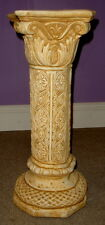 "22"" Ornate Ionic Greek Roman Column Pedestal Style Home Decor"