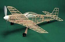 P-51 Mustang #106 Herr Balsa Wood Model Airplane Kit Rubber Powered