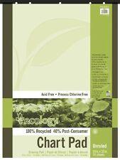 "Pacon Ecology Flip Chart Pad - 70 Sheet - 15 Lb - Unruled - 24"" X 32"" - 1 Each -"