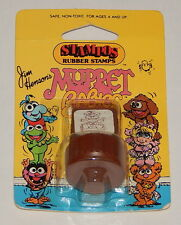 1984 *Vintage* STAMPOS Rubber Stamps Muppets Babies: Baby Fozzie Brown R8057