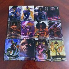 2018 UD MARVEL MASTERPIECES  Trading Card  BASE ( LOT OF 12)