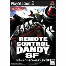Used PS2 Remote Control Dandy SF  SONY PLAYSTATION 2 JAPAN IMPORT