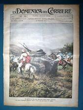 La Domenica del Corriere originale 20 settembre 1925 Marocco Carro Jersey