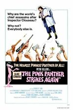 Pink Panther Movie Poster Strikes Again 24x36in #01