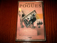 The Best Of The Pogues MADE IN BULGARIA CASSETTE New Tape Bulgarian Hologram