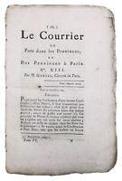 Embrun en 1789 Gevaudan Rare Journal Révolution Française Cambrai Gorsas Metz