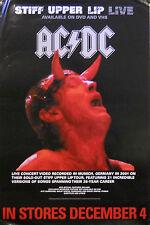 AC/DC, STIFF UPPER LIP LIVE POSTER (K2)