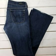 Citizens of Humanity Kelly Jeans Womens 29x33 Dark Wash Low Rise Bootcut J1714