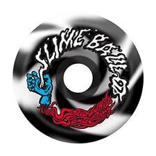 Santa Cruz Slime Balls Vomits Skateboard Wheels 60mm 97a Black/White Swirl