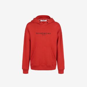 Givenchy Paris Vintage Regular Fit Hoodie - Red