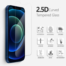 Best Screen Protector for iPhone 12 11 Pro Max XR X XS Max 8 7 Tempered GLASS
