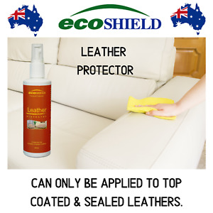Ecoshield Leather Protector 250ml-Protects Leather Furniture & Car Seats