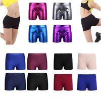 Girls Kids Shorts Hot Pants Ballet Dance Underwear Bottoms Gym Yoga Sports Wear
