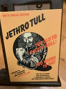 Jethro Tull TOO OLD ROCK'N'ROLL 40th Anniversary Edition THE TV SPECIAL EDITION