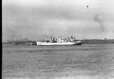 Merchant Ship ?, Original Shipping Photo Negative, N215
