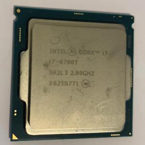 Intel Core i7-6700T 6th Generation 2.8GHz Socket LGA1151 Quad Core good working