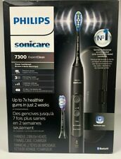 Philips Sonicare 7300 Expert Clean Electronic Toothbrush - Black NEW SEALED