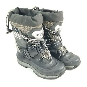 Kamik Renegade 4 R.U. Outside US 6 Unisex Black Insulated Snowmobile Snow Boots