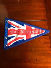 Proud to be English scooter flag blue edge