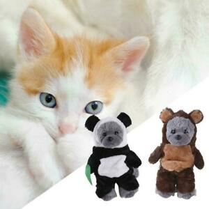 Walking Bear Pet Cats Dogs Suit Transforming Funny Clothes Halloween N4U0