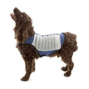 Cool K9 Dog Cooling Jacket Heat Protector Pet Clothes Vest SM MED LG Jacket NEW