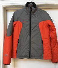 Mammut Women's MTI PERFORMANCE Jacket GRAY/ Orange Red, Size M