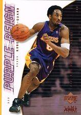 Carte card NBA Upper Deck Game jersey edition 2001 - N° 444 - Kobe BRYANT
