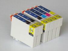 6pk Non-OEM T126 ink cartridges T1261-T1264 for Epson630/633/635/840