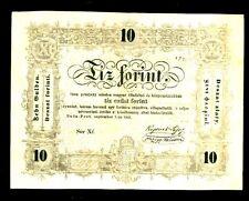 Hungary ... P-S117 ... 10 Forint ... (1848) ... *F+*