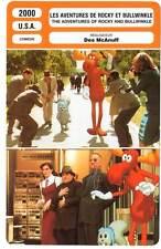 LES AVENTURES DE ROCKY ET BULLWINKLE - De Niro,Russo,Perabo (Fiche Cinéma) 2000