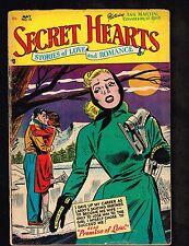 Secret Hearts #15 ~ DC Romance; A Promise of Love ~ 1953 (3.0) WH