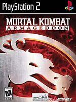 Mortal Kombat: Armageddon (Sony PlayStation 2 PS2 2006) No Manual TESTED!