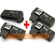 RF-16NE Wireless Flash Trigger for CANON w/ 3 Receivers