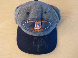 JOHN ELWAY Signed Denver Broncos Hat/Cap PSA/DNA Authentication