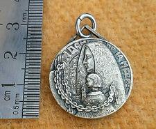 Sterling Silver Bead Charme vintage Notre-Dame de Paris Pendentif Fit European BRC