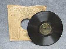 "78 RPM 10"" Record Paul Whiteman & Orchestra Oriental Fox Trot 1908 Victor 18940"