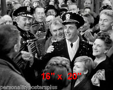 "It's a Wonderful Life~Christmas~James Stewart~Photo~Poster~ 16"" x  20"""