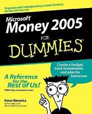 Microsoft Money 2005 For Dummies (For Dummies (Computers))-ExLibrary