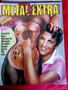 METAL EXTRA 2 Speciale ROCK 1 1982 Fumetti Rock Loustal Druillet Voss Macedo