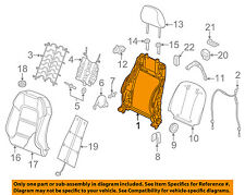 AUDI OEM 17-18 A3 Quattro Front Seat-Seat Back Frame Right 8V3881516