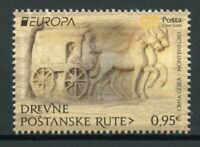 Montenegro Europa Stamps 2020 MNH Ancient Postal Routes Services Horses 1v Set