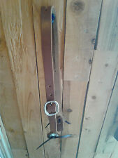 """1"""" ONE EAR SLIT HARNESS LEATHER HEADSTALL / BRIDLE - Made in Texas"""