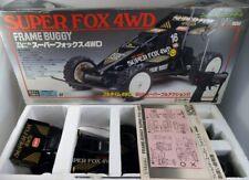 Vintage 80s Nikko Japan 1/14 Frame Buggy Super Fox 4WD NMIB Taiyo Tyco Tamiya