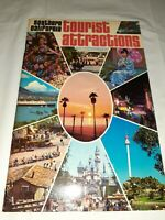 Vtg 1970's Southern California Tourist Attractions Booklet Brochure Guide