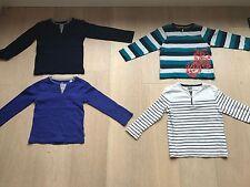 Lot de 4 T-Shirt Manches Longues - Taille 4 ans