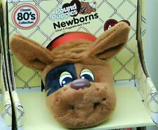 🔥Pound Puppies - Classic 80's Newborns BROWN w Black Eye Adopt HASBRO Basic Fun