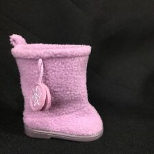 American Girl MY AG Frosty Fair Isle Outfit Replacement Right BOOT SLIPPER Only