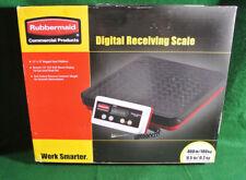 Rubbermaid 4040-88 Digital 400 Lb. Receiving Scale NEW
