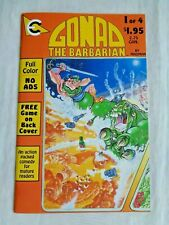 Gonad The Barbarian No. 1 by Madman 1986 Eternity Comics First Printing NM (9.4)